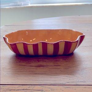 Southern living Gail Pittman Siena ruffled bowl